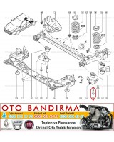 LAGUNA III TRAVERS CİVATASI 7703002808