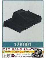 12K001 OTO SOKET Sigorta Kutu Soketi  RENAULT MEGANE II