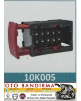 10K005 OTO SOKET FAR SOKETİ  OPEL