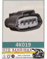 4K019 OTO SOKETÇİ Şamandıra Soketi  RENAULT CLIO
