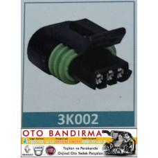 3K002 OTO SOKET Potansiyemetre/Sensör Soketi/Bobin Soketi/EnjektörSoketi RENAULT-FIAT