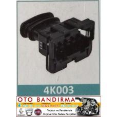 4K003 OTO SOKET EM Bobin/Far Soketi CITROEN/PEUGEOT-BMW-RENAULT-PEUGEOT-VOLVO-VOLKSWAGEN